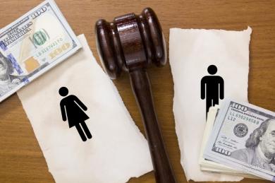 Как поделить кредиты при разводе
